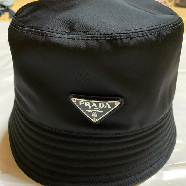 PRADA(プラダ)の【ワンチャン様専用】PRADA バケットハット XL メンズの帽子(ハット)の商品写真