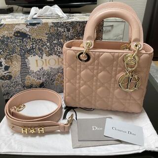Christian Dior - 超美品 レディディオールバック ベビーピンク