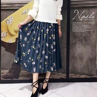 Noela - ノエラ フラワープリント スカート