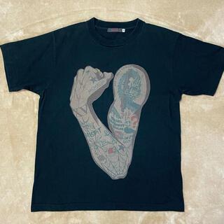 フルカウント(FULLCOUNT)のフルカウント FULLCOUNT タトゥー Tシャツ ブラック(Tシャツ/カットソー(半袖/袖なし))