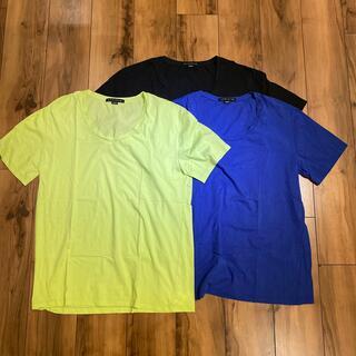 アヴァランチ(AVALANCHE)のBAGARCH BGHB バガーチ Uネック Tシャツ Lサイズ 3枚セット(Tシャツ/カットソー(半袖/袖なし))