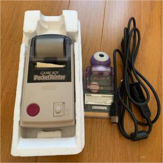 ニンテンドウ(任天堂)の任天堂 ゲームボーイプリンター&ポケットカメラ (携帯用ゲーム機本体)
