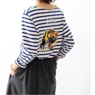 ビームスボーイ(BEAMS BOY)のビームスボーイ×東洋エンタープライズ刺繍バスクシャツ(カットソー(長袖/七分))
