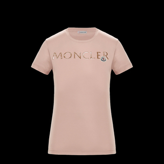 MONCLER - モンクレール MONCLER Tシャツ ロゴ ワッペン
