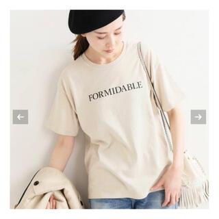 IENA - IENA   ロゴプリントTシャツ☆イエナ ベージュ