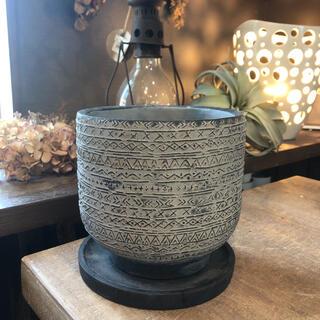 アフリカンポット おしゃれ植木鉢(プランター)