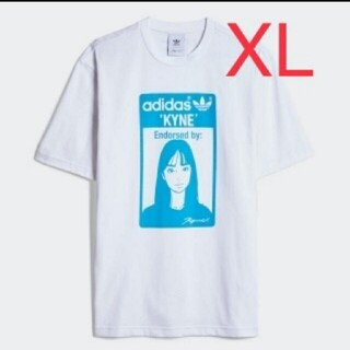 adidas - XLサイズ adidas グラフィック KYNE Tシャツ キネ