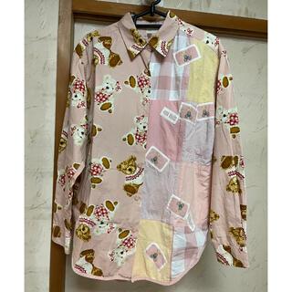 PINK HOUSE - ピンクハウス♡カップルくまシャツ ピンク