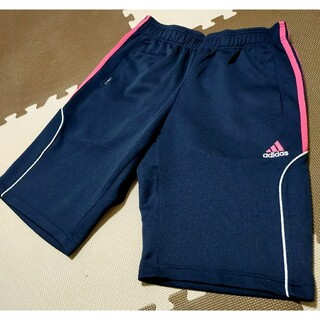 adidas - ☆アディダス ハーフパンツ ネイビー&ピンク L ●AHP-258