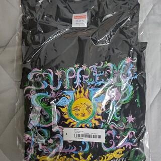 Supreme - supreme crest tee black L