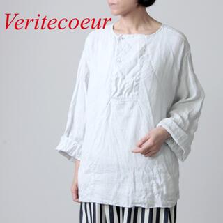 Veritecoeur - 【美品】Veritecoeur ヘンプリネンプルオーバーシャツ