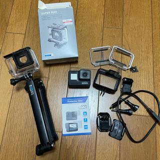 GoPro - GoPro HERO7 Black 3wayセルカ棒、防水ケース付き!!