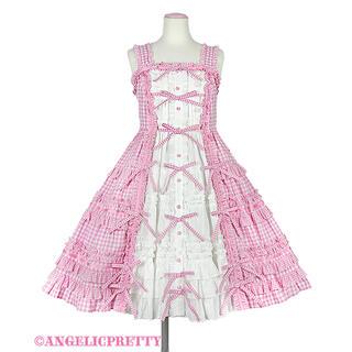Angelic Pretty - Little Houseジャンパースカート ピンク Angelic Pretty