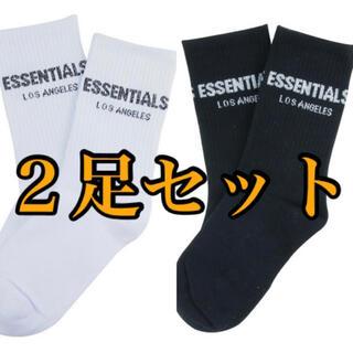 essentials ソックス 2足セット
