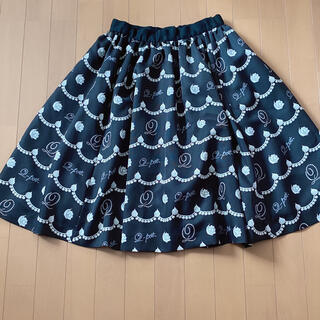 キューポット(Q-pot.)のキューポット ホイップ スカート ワンピース Q-pot(ひざ丈スカート)