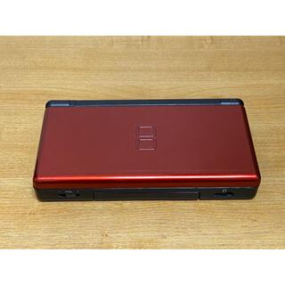ニンテンドウ(任天堂)の【ジャンク品】Nintendo DS LITE クリムゾンレッド/ブラック(携帯用ゲーム機本体)