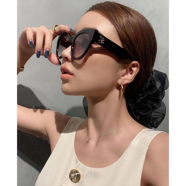 eimy istoire(エイミーイストワール)の新品 eimyistoire   ESロゴサングラス レディースのファッション小物(サングラス/メガネ)の商品写真