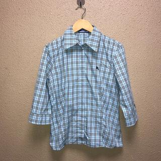 バーバリーブルーレーベル(BURBERRY BLUE LABEL)のバーバリーブルーレーベルシャツ(シャツ/ブラウス(長袖/七分))