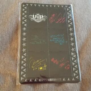 ビッグバン(BIGBANG)のBIGBANGファンクラブ特典!サイン&コメント入マグネット!未開封!(アイドルグッズ)