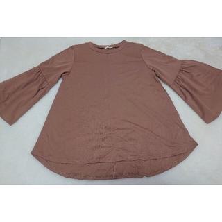 GU - GU ボリュームフレアスリーブTシャツ