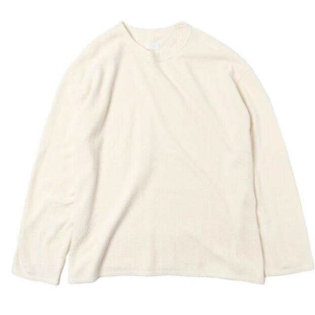 1LDK SELECT(ワンエルディーケーセレクト)のURU cotton ロンt メンズのトップス(Tシャツ/カットソー(七分/長袖))の商品写真