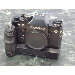 CONTAX RTS Ⅱ +  W-3 ワインダー 機関快調 美品クラス