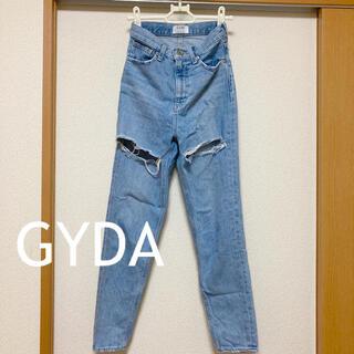 GYDA - GYDA ダメージ デニム