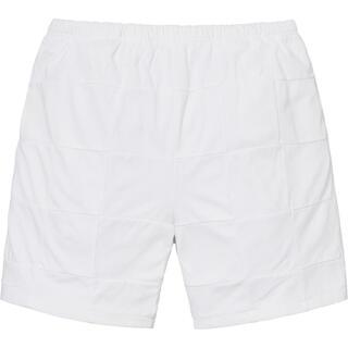 Supreme - SUPREME Patchwork Pique Short white M
