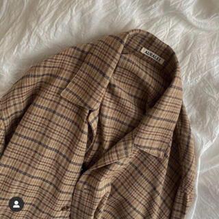 COMOLI - auralee 18ss silk summer tweed