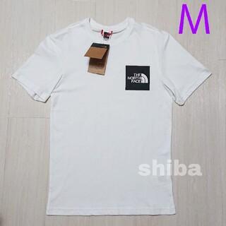 THE NORTH FACE - ノースフェイス tシャツ 半袖 ロゴボックス Fine t-shirt 海外M