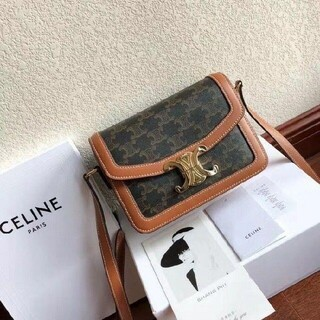 celine - CELINE トリオンフ ショルダーバッグ