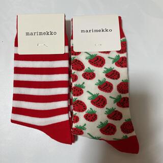 marimekko - 新品 ソックス 靴下 マリメッコ