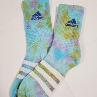 アディダス(adidas)のadidas タイダイsocks  25-27㎝(ソックス)