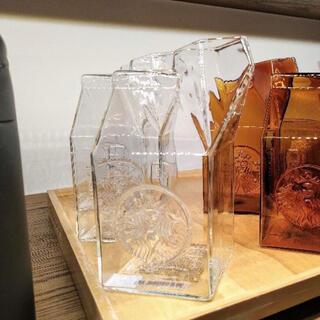 Starbucks Coffee - 1点のみ 台湾 スターバックス ミルク マグカップ クリア 透明 ガラス