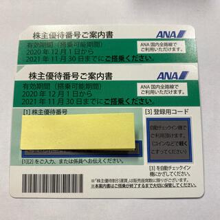 ANA 株主優待 2枚(その他)