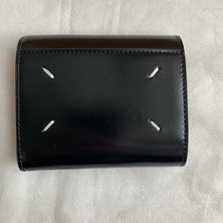 Maison Martin Margiela - メゾンマルジェラ 3つ折り財布 21SS ブラック 【新品未使用】