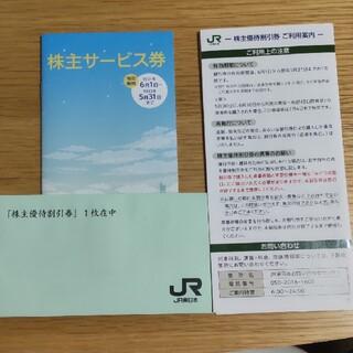 ジェイアール(JR)のねこ様専用 JR 東日本 株主優待券 サービス券(その他)