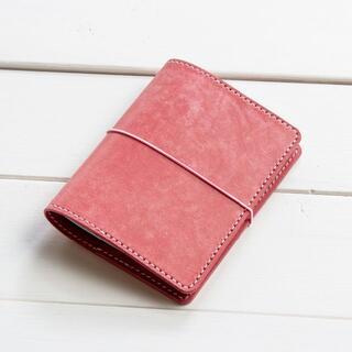 B7 / トラベラーズノート パスポートサイズ / スクラッチピンク(ブックカバー)
