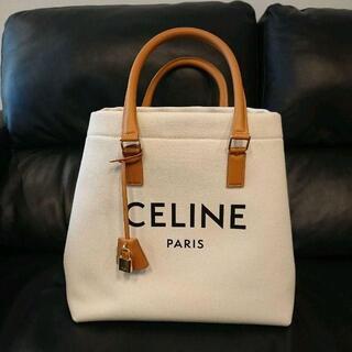 celine - セリーヌ CELINE ホリゾンタル  キャンバス トートバッグ