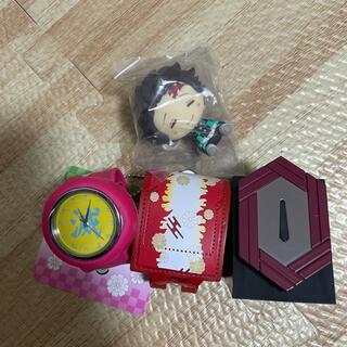 ☆鬼滅の刃 グッズまとめ売り☆時計 アイテムコレクション ちょこのっこ他☆