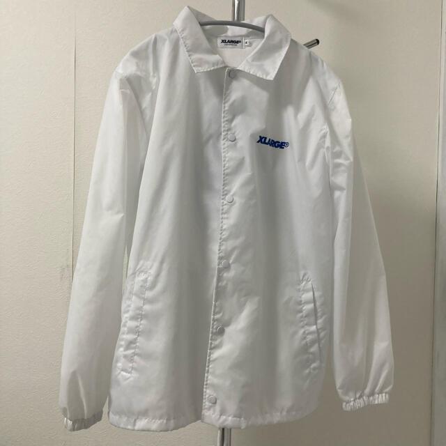 XLARGE(エクストララージ)のXLARGE コーチジャケット ホワイト メンズのジャケット/アウター(ナイロンジャケット)の商品写真