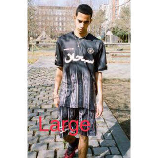Supreme - Supreme 21ss Arabic Logo Soccer Jersey