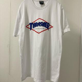 THRASHER - THRASHER × STARTER Tシャツ ホワイト