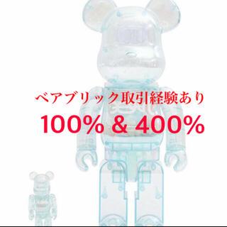 MEDICOM TOY - BE@RBRICK  X-girl 2021 400%×100%