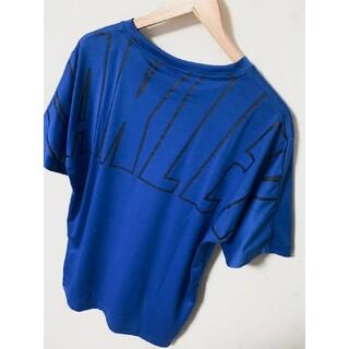 オークリー(Oakley)の新品 オークリー OAKLEY Tシャツ ブルー XLサイズ ビックサイズ! 銀(Tシャツ/カットソー(半袖/袖なし))