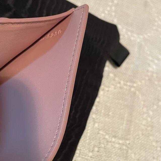 celine(セリーヌ)の極美品☆セリーヌ スモールトリオンフウォレット ヴィンテージピンク レディースのファッション小物(財布)の商品写真