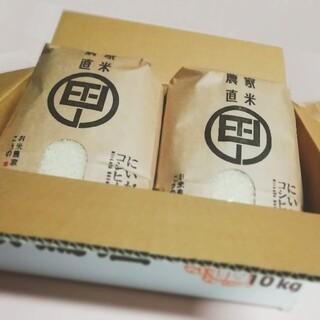 令和2年度産  新潟こしひかり 10kg(5kg×2袋) 特別栽培米(米/穀物)