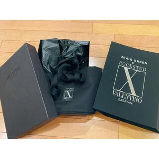 ヴァレンティノ(VALENTINO)のVALENTINO×ROCKSTUD  空箱 リボン コラボ(ショップ袋)