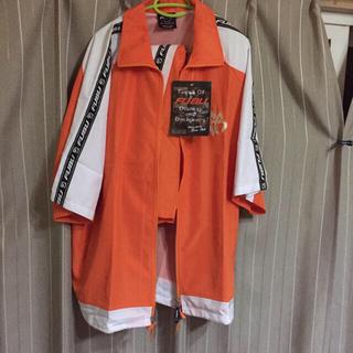 フブ(FUBU)の新品 未使用 90s FUBU タグ付き 半袖 セットアップ tシャツ(セットアップ)
