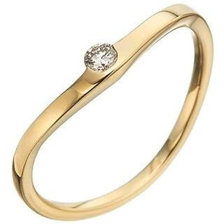 agete - agete K18 ダイヤモンド リング